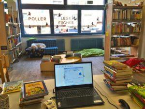 Digitalisierung der Schulbücherei an der GGS Poller Hauptstraße.