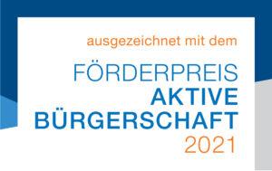 Förderpreis Aktive Bürgerschaft 2021