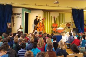 """Die """"9. Sinfonie der Tiere"""" an der Sankt Nikolaus Schule in Köln Zollstock"""